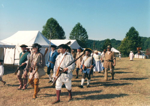 Prospect district militia 1790s