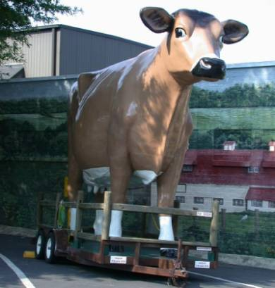 The Richfield cow